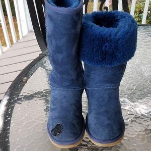 UGG Blue Classic Tall Boots READ Rehab Repurpose 7